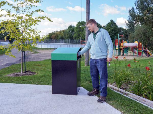 poubelle urbaine - Poubelle urbaine