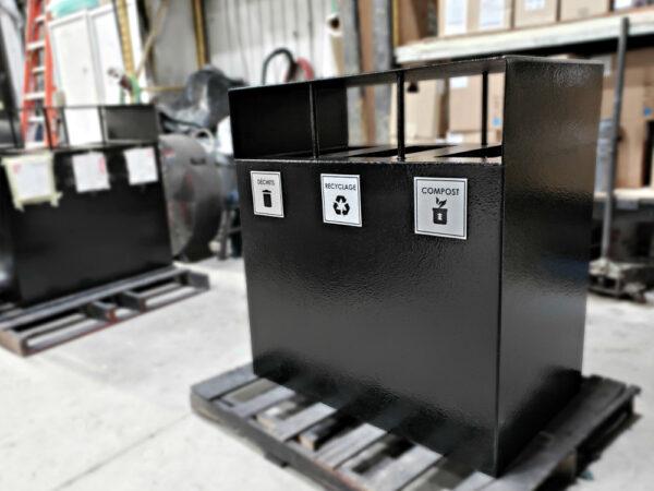 collecteur déchet recyclage compost