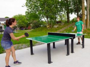 table de ping-pong extérieure